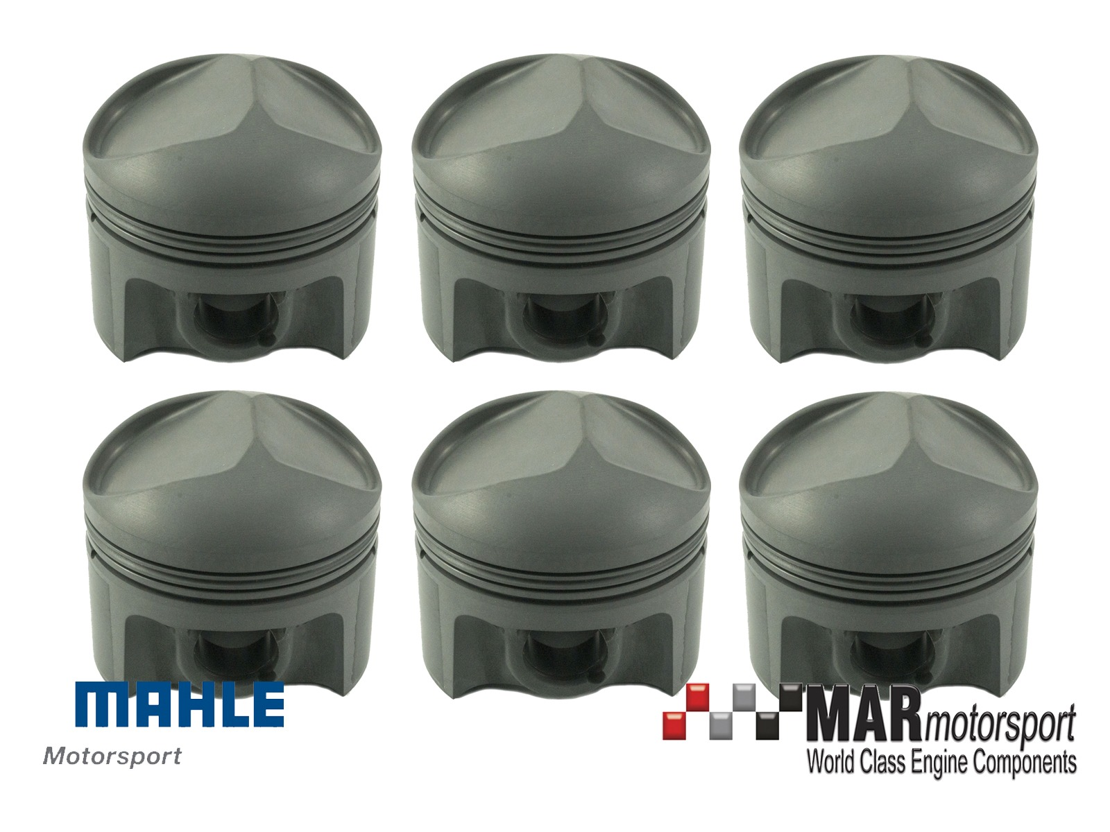 Porsche 911 2.0 MAHLE Pistons & Nikasil Cylinders