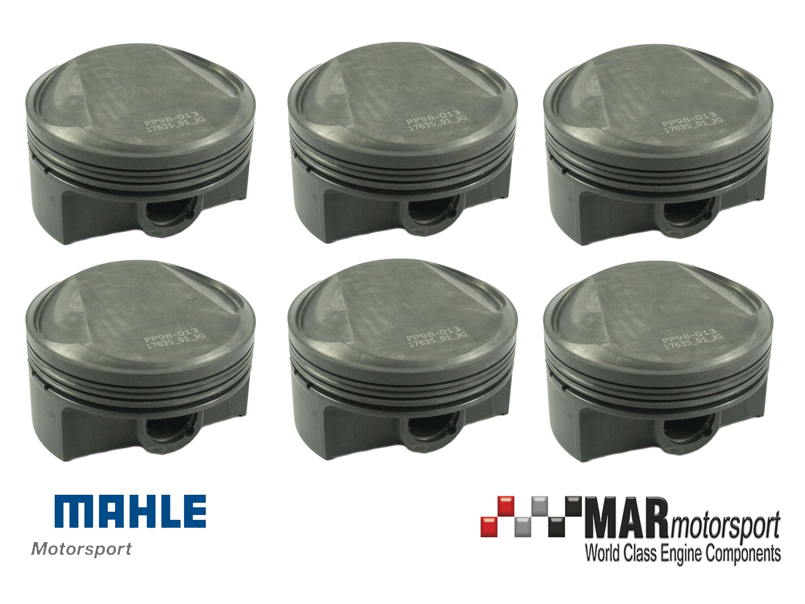 98mm Forged mahle porsche pistons